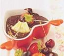recept chocoladefondue