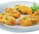 18 aardappel courgette koekjes