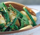 19 roergebakken asperges met haricots verts
