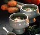 6 aardappelsoep met lentegroenten