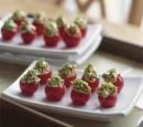 20 gevulde tomaat met zalm
