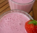 2 aardbeien milkshake light